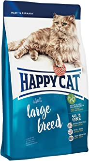Happy Cat Large Breed Supreme Croquettes Cats Food, Blue, X-Large