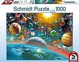 Schmidt Spiele 58176 - Weltall, 1000 Teile Puzzle -