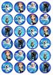 Frozen Edible Wafer Rice Paper 24 x 4.5cm Cupcake Toppers/Decorations