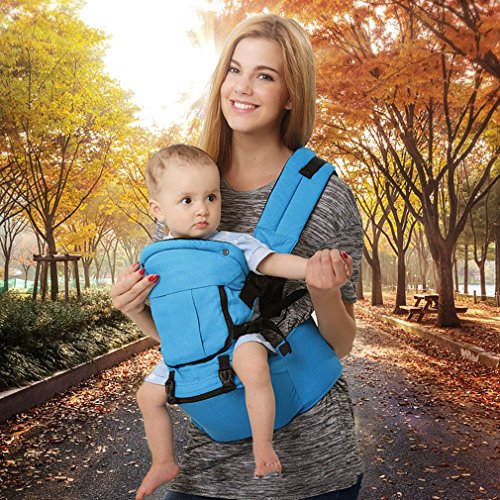 917f49d372bd WEIWEITOE Baby Carrier Backpack, muitipurpose Breathable Design and 3D mesh  Cloth with Removable Hat Back