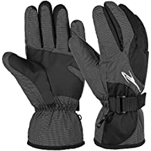 Vbiger Skihandschuhe Skifahren Handschuhe für Herren Outdoor Handschuhe Sport Handschuhe Winter