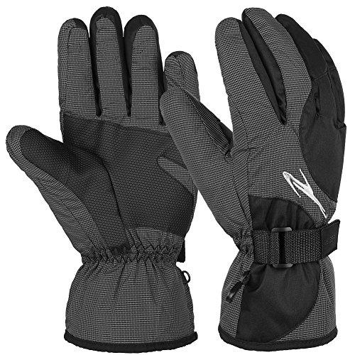 Vbiger Skihandschuhe Skifahren Handschuhe für HerrenOutdoor Handschuhe Sport Handschuhe