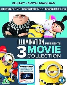 Despicable Me 1-3 Boxset (2D Blu-Ray + digital download) [2017]