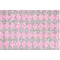 Zala Living Circus Felpudo, Poliamida, Color Rosa/Gris, 150x 50x 0,7cm