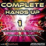 Complete Hands Up Vol. 1-10 Extensive Hands Up Construction Kits | WAV + MIDI Files | DVD non Box