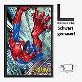 Kunstdruck Poster - Spiderman Comic Marvel 61 x 91,50 cm