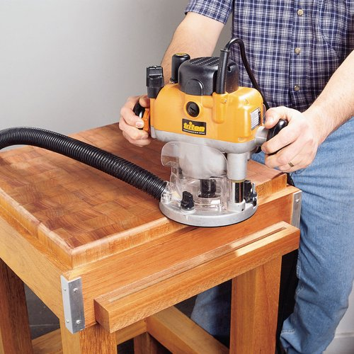 You will certainly appreciate the features on the Triton TRA001 Dual Mode Precision Plunge Router. The multi-functionality between working as a plunge router and a fixed-base router is a major selling point as well as the extra power it offers.