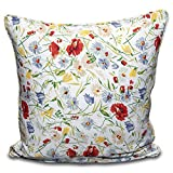 "100% Cotton Multi Flower Cushion Cover Pillow Case Sofa Home Decor in 16""18"" 20"" (16"" X 16"")"