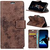 Codream HTC U12 Life Case, HTC U12 Life Wallet Case, Skins, Premium Slim Leather Wallet Back Case With Credit Card ID Holder Protective Case Compatible With HTC U12 Life,Brown
