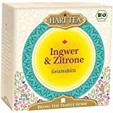 Hari Tea Geistesblitz / Rosige Zeiten für graue Zellen Ingwer und Zitronentee, 2er Pack (2 x 20 g) - Bio