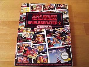 1x SNES Spieleberater 2 - Offizielles Lösungsbuch / Offizieller Spieleberater für SNES Super Nintendo Spiele (deutsch)