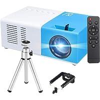Mini Projecteur, 1080P Fulll HD Supporté 3000 Lumens Portable Vidéoprojecteur, 50000 Heures LED Multimédia Cinéma Maison…