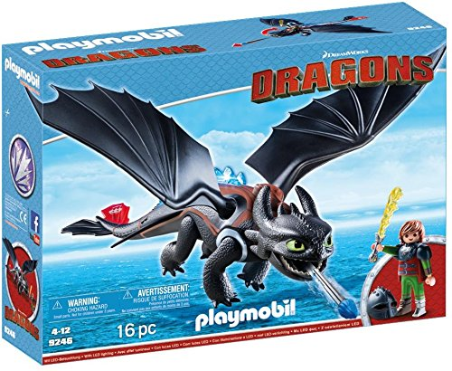 Playmobil 9246 Dragons Hiccup & Toothless with LED Light Effects