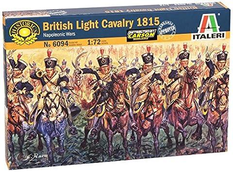 Italeri 6094S - Napoleonic wars - British Light Cavalry 1815 (72 British Light)