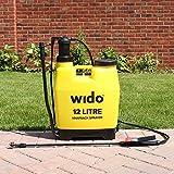 Wido 12L Knapsack Pressure Sprayer Backpack Pressure Weed Killer Garden Knapsack Crop