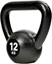 Reebok RSWT-12312 12 kg Kettlebell, Black