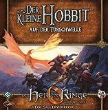 Asmodee HE371 - Herr der Ringe Kartenspiel, Auf der Türschwelle, 2 Hobbit Saga Erweiterung