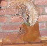 Edelrost Schuh, trendige rostige Dekoidee für Haus und Garten