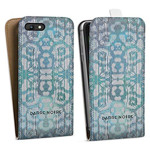 Apple iPhone X Silikon Hülle Case Schutzhülle muster blumenmuster fashionweek Downflip Tasche weiß