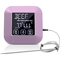 NICEJW Thermomètre Alimentaire Numérique LCD Instantané Avec Gaine En Plastique, Thermomètre à Sonde De Cuisson Pour…