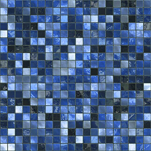 24 Midnight Blue - Printed in 2d Kitchen / Bathroom Tile STICKERS For 150mm (TP3 - 6 inch) Square Tiles – Directly From: TILE STYLE DECALS, No Middleman (Full Pack of 24)