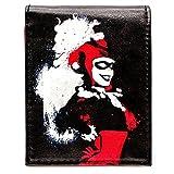 DC Suicide Squad Harley Grafitti style Noir Portefeuille