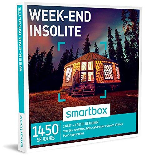 SMARTBOX - Coffret Cadeau - WEEK-END INSOLITE - 1450...