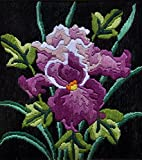 #5: Anchor Stitch Kit - Mauve Flower