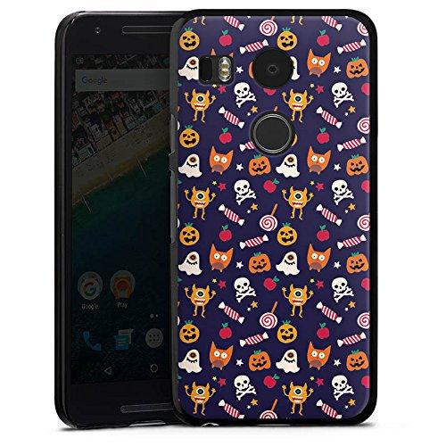 Halloween Kürbisse Google (Google Nexus 5X Hülle Case Handyhülle Geist Kürbis Halloween)