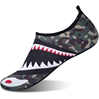 JOINFREE Women Mens Water Shoes Water Socks Ladies Aqua Shoes Beach Footwear Boys Pool Shoes Mens Surfing Swim Water…