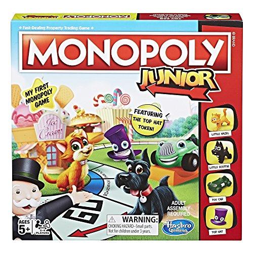 Hasbro Jeux de Société – Monopoly Junior (Amazon Exclusive) – Version Anglaise