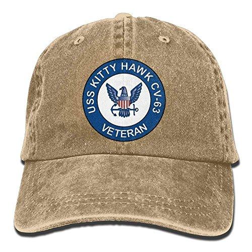 Hüte,Kappen Mützen US Navy USS Kitty Hawk CV-63 Ship Veteran Unisex Adjustable...
