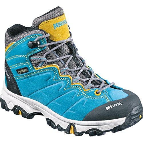 Meindl Chaussures de marche et de randonnée pour garçon Türkis ocker/Turquoise türkis / ocker