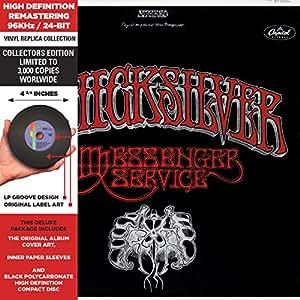 Quicksilver Messenger Service - Cardboard Sleeve - High-Definition CD Deluxe Vinyl Replica