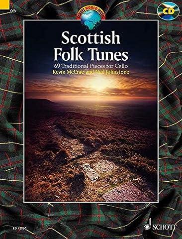Scottish folk tunes +CD (69 pièces traditionnelles) ---