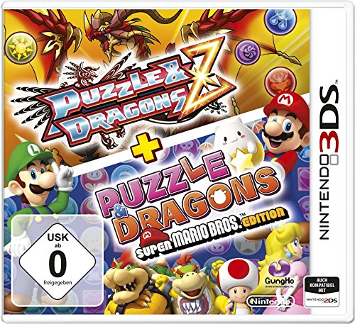 Puzzle & Dragons Z + Puzzle Dragons Super Mario Bros. Edition - 3ds Mario Bros Nintendo Xl Super