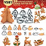 KING DO WAY Biscuits De Noël De Gâteau 8 De Pièces En Acier Inoxydable De Moule DIY Outil Classique