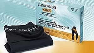Guam - IL Leggings Colore Nero Taglia L/XL con Alghe Marine