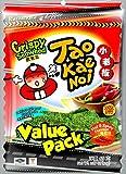 Taokaenoi Brand Seetangsnack gewürzt, 6er Pack (6 x 65 g)