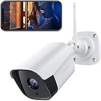 【2021 Aggiornato】Victure FHD 1080P Telecamera IP esterno, Telecamera di Sicurezza con Rilevamento di Suoni e Movimenti…