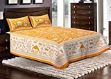 Jaipuri haat Cotton Double Bedsheet with...