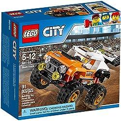 LEGO - 60146 - City - Jeu de construction - Le 4x4 de Compétition