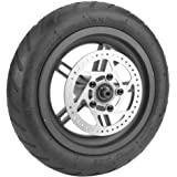 Vobor Luchtbanden achterwiel banden schijfrem banden met naaf en remschijf voor Mijia M365 elektrische scooter