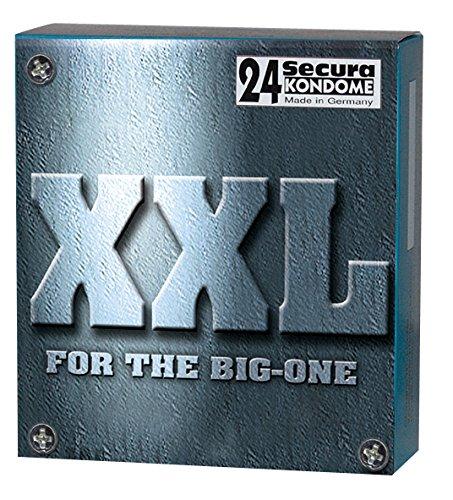 Orion 415359 Secura XXL, Kondome extra gross, ca. 190mm, Nennbreite ca. 54 mm