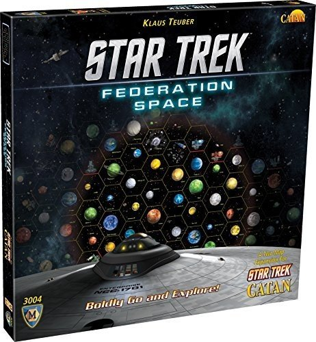 [UK-Import]Star Trek Catan Federation Space Map Set