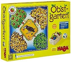 40 Früchte aus Holz, kooperatives Spiel für 2 bis beliebig viele Kinder von 3 bis 6 Jahren