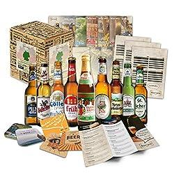 Perfekte Geschenkidee für jeden der Bier mag! inkl. kostenloser Geschenkverpackung und tollen Beilagen Sie erhalten Ihre ganz persönliche deutsche Bier Reise durch die Biergenüsse unseres Landes. Genießen Sie Bier aus Bayern oder einem leckeren Bier ...