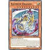 Best single card Card Yugiohs - YuGiOh : LED2-EN043 1st Ed Rainbow Dragon Common Review
