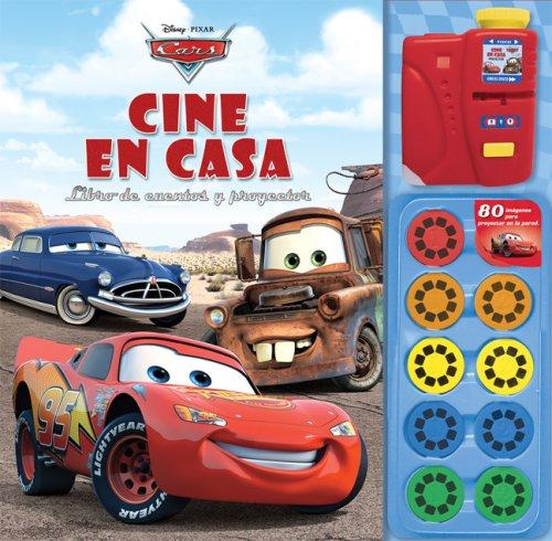 Cars cine en casa / Cars Movie Theater Storybook and Movie Projector: Libro de cuentos y proyector / Story book and projector (El mundo de cars/ The Car's World) por Silver Dolphin En Espanol