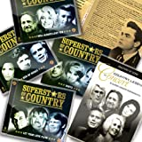 Superstars Of Country 6CDs + Bonus CD + Free 2DVDs + Bonus Booklet by Zestify - As Seen On TV